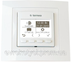 Программируемый терморегулятор Terneo pro - ЕВРОКОТЕЛ в Киеве