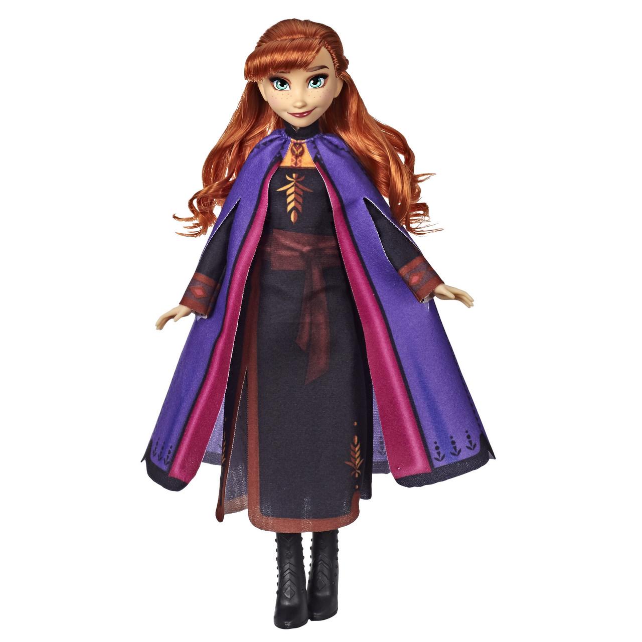 Кукла Анна Холодное сердце 2 с длинными рыжими волосами Disney Frozen 2 Anna Hasbro E6710
