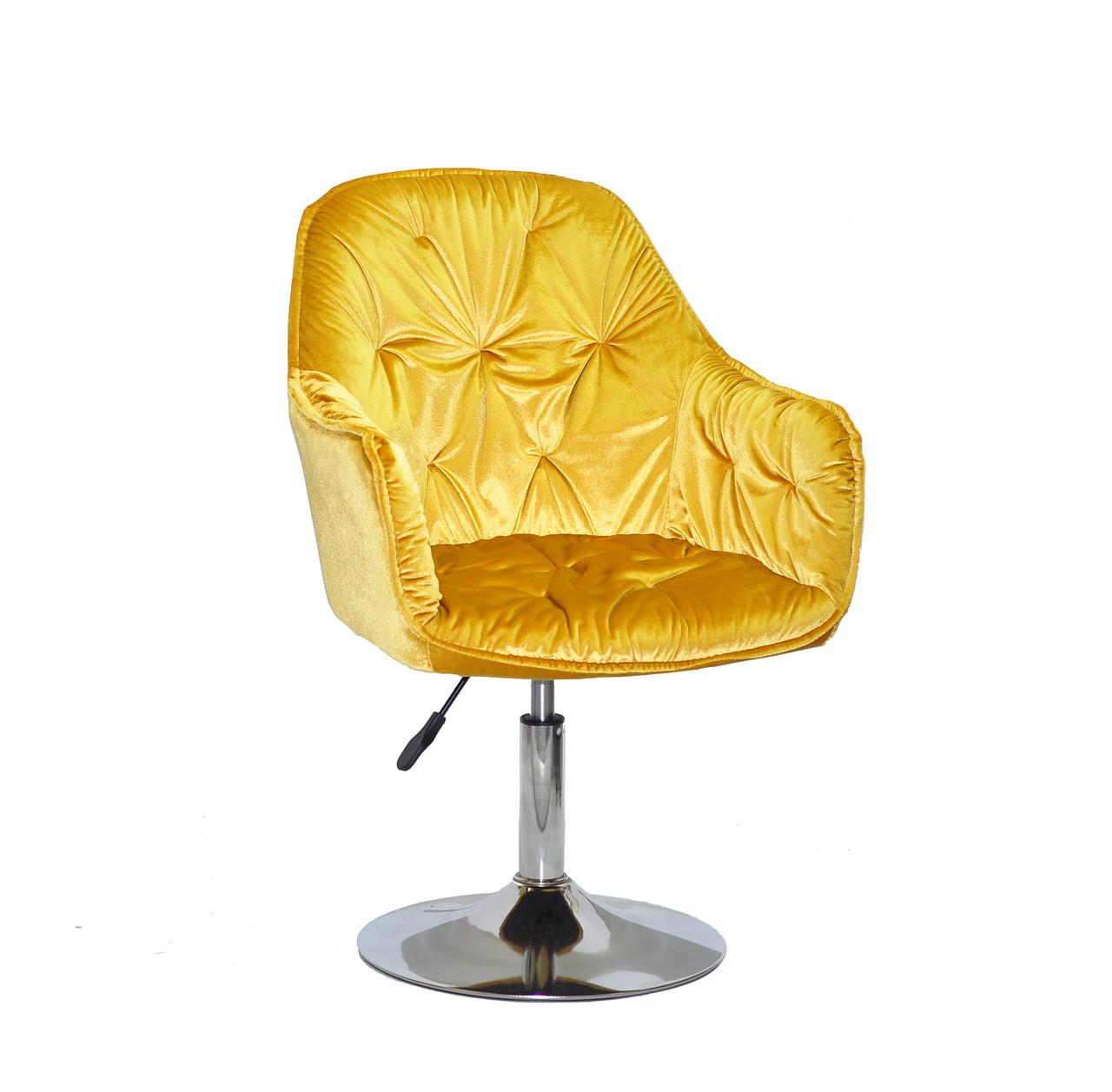 Кресло на блине с подлокотниками с регулировкой высоты, кресло мастера, парикмахерское кресло, Mario CH-Base