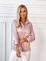 Жіноча сорочка з довгим рукавом 42-46