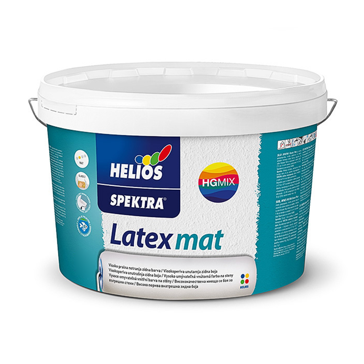 Інтер'єрна фарба Helios Spektra Latex Mat матова 10л