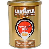 Молотый кофе Лавацца в жестяной банке Lavazza Qualita Oro