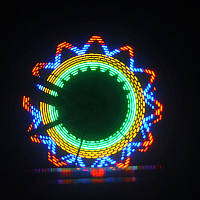 Светодиодная подсветка колеса велосипеда, 32 узора
