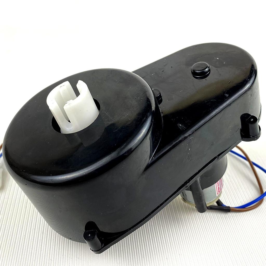 Рулевой редуктор с мотором RS380 12V 4000RPM для детского электромобиля