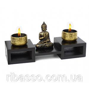 Подвійний свічник Будда