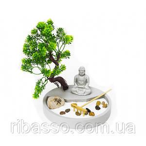 """Дзен набір """"Сад каменів"""" Будда під деревом"""