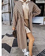 Жіночий Кардиган пальто кашемір 42-44 46-48, тільки білий