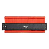Шаблон для переноса сложных профилей YATO 260 х 44 мм