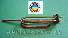 Тэн для бойлера Аристон, Атлантик 1,5 кВт медный на фланце Ø48мм, на длинных ножках, под анод М6 Украина