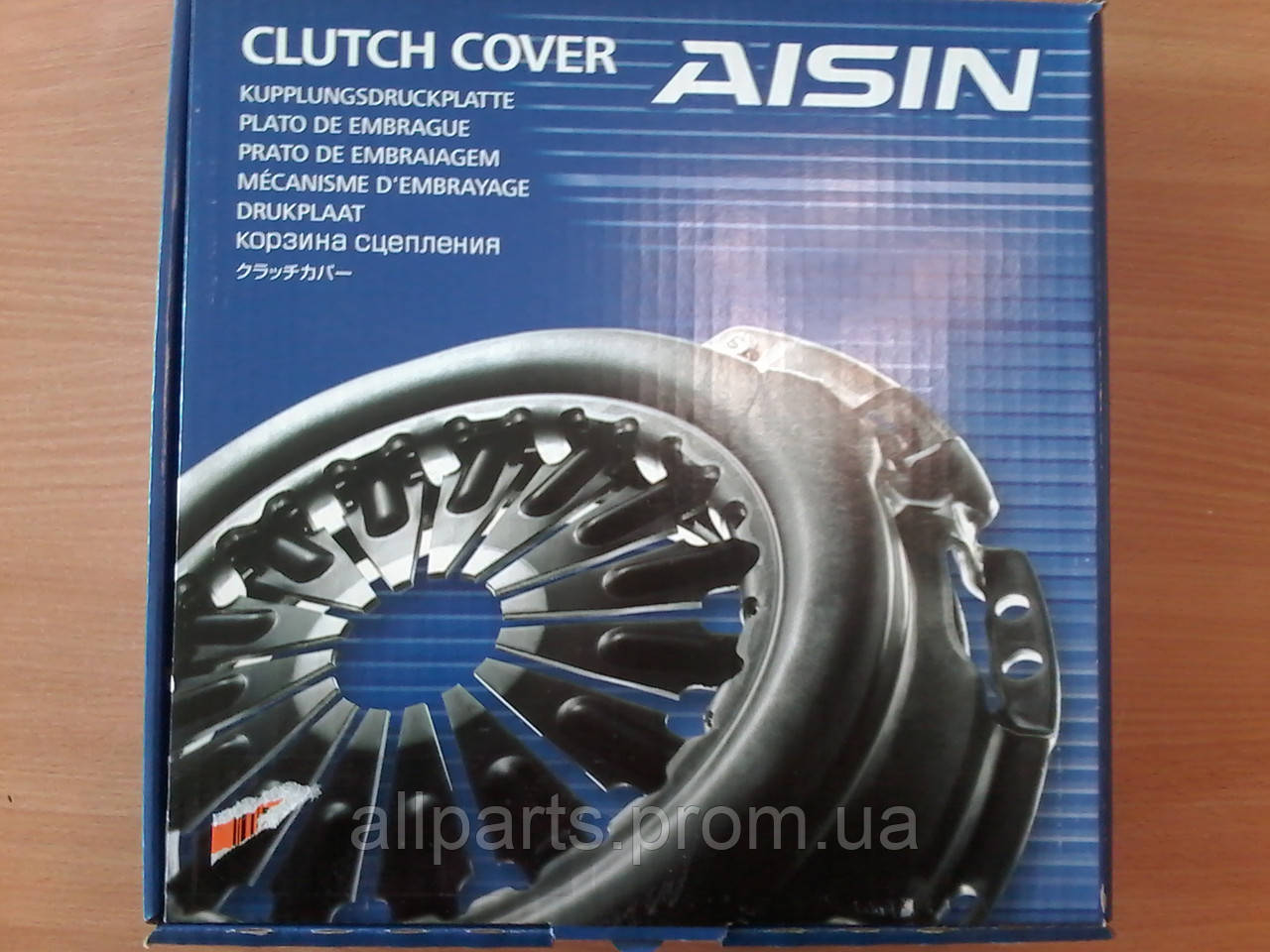 Комплект сцепления, диск, корзина Aisin (страна производитель Япония)