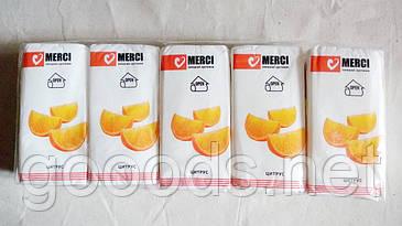 Бумажные салфетки Merci в ассортименте 10 штук