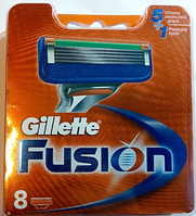 Картриджи Gillette Fusion 8 шт Original