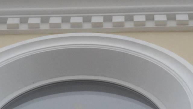 Изготовление и монтаж декоративных элементов фасада Храма Трех Святителей в с. Холодная Балка  1