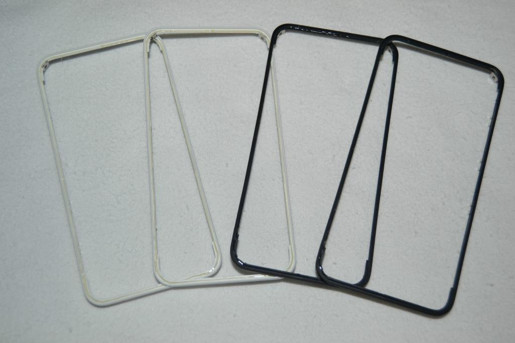 Рамка крепления дисплея Apple iPhone 4, 4S white