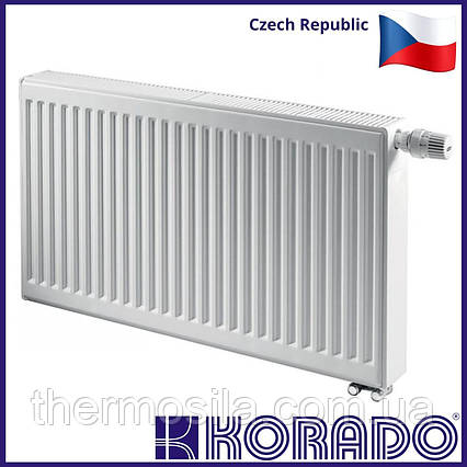 Стальной панельный радиатор KORADO RADIK 11 тип 300х2000 нижнее подключение
