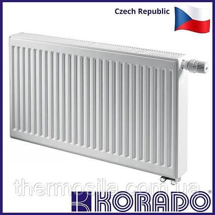 Стальной панельный радиатор KORADO RADIK 11 тип 500х500 нижнее подключение