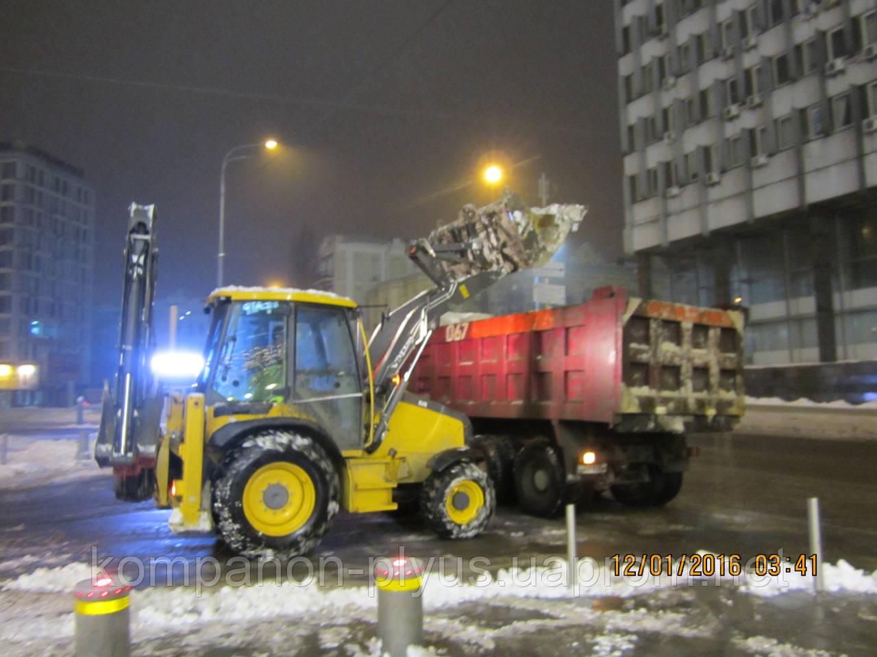 Прибирання снігу та льоду