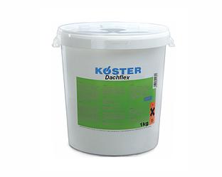 Мастика латексная KÖSTER DACHFLEX для скатных крыш белая 1кг