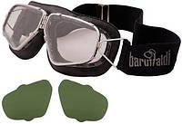 Мото очки на резинке Baruffaldi Primato 259 Big Pad черные