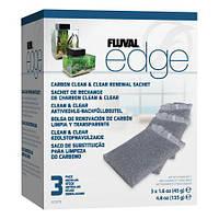 Наповнювач для фільтра Fluval Edge активоване вугілля (3 x 45 г)