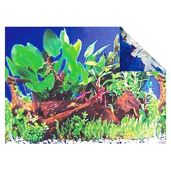 Фон для аквариума KW Zone 50 см / 15 м (дно реки / кораллы)