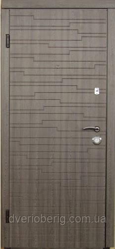 Вхідні двері модель П3 699 дуб кедбери