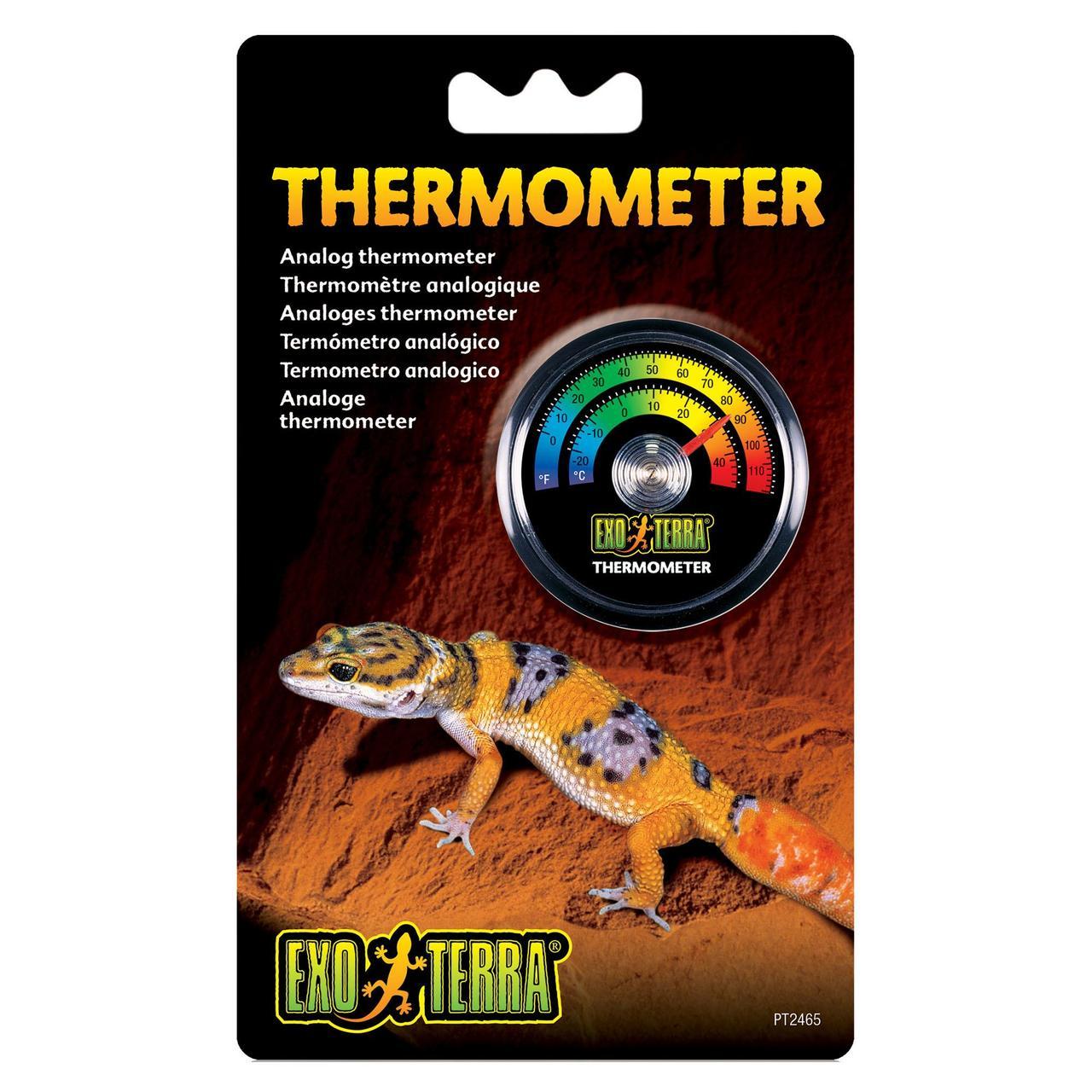 Термометр для тераріуму Exo Terra механічний, з наклейкою