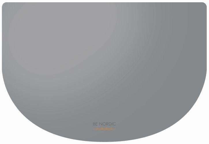 Мат чаши BE НОРДИЧЕСКИЕ, 40 × 30 см, серый