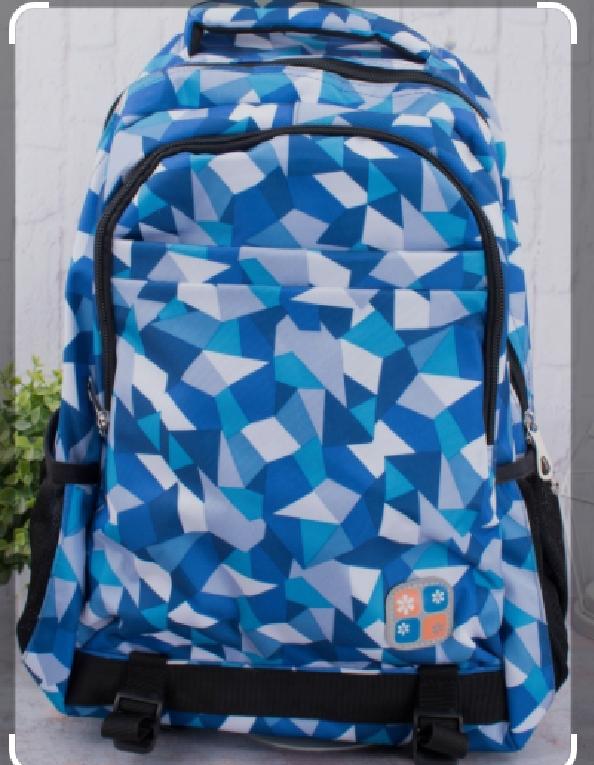 Рюкзак городской модный тканевый принт 46*25 см в разных цветах Mark