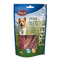 Лакомство для собак Trixie PREMIO Chicken Filets 100 г (курица)