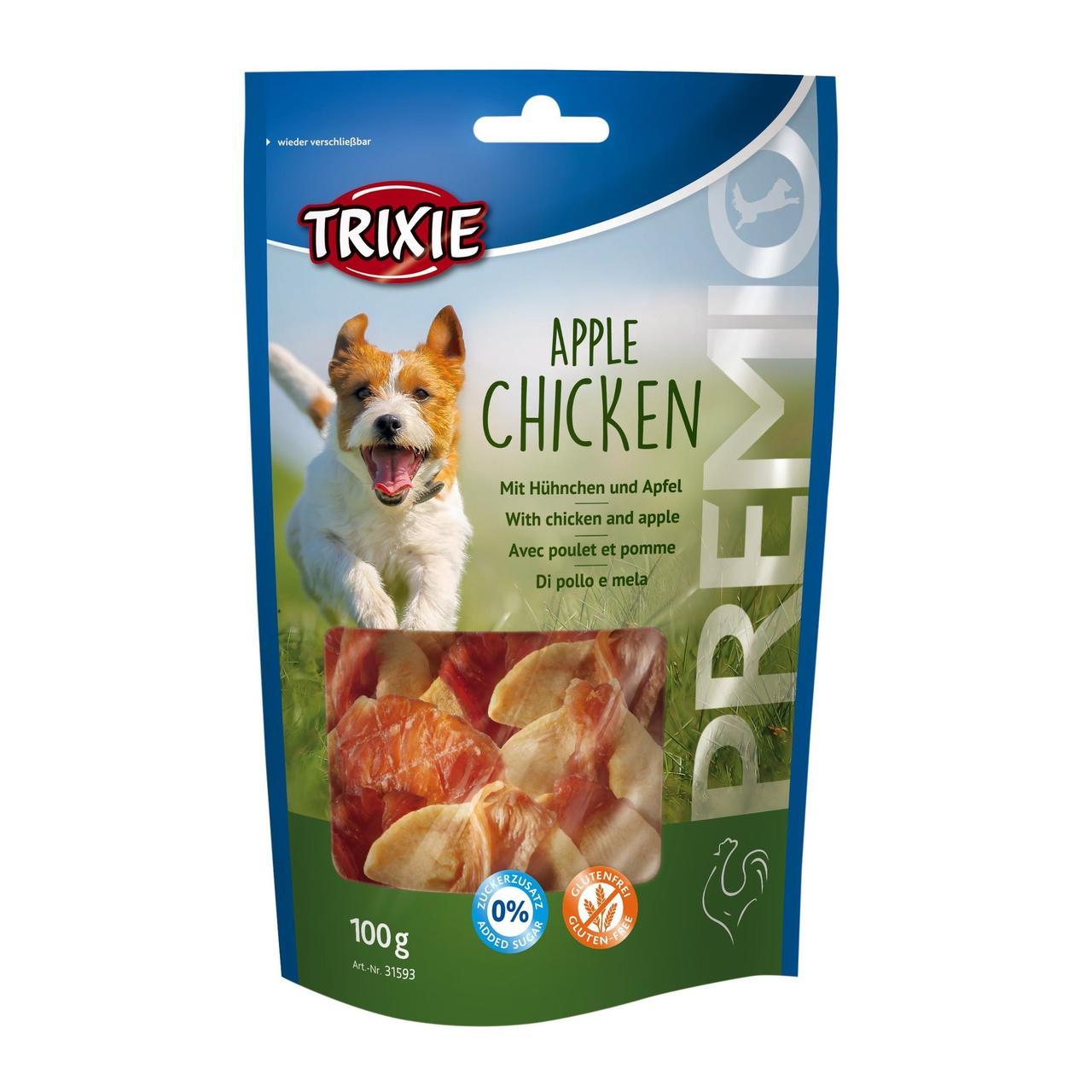 Лакомство для собак Trixie PREMIO Apple Chicken 100 г (курица и яблоко)