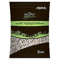 Грунт для акваріума Aquael, гравій доломітовий 2 кг (2-4 мм)