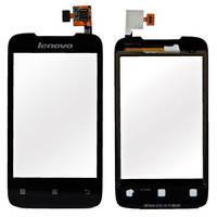 Сенсорный экран (touchscreen) для Lenovo A269, оригинал (черный)