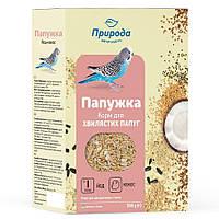 Корм для птиц Попугайчик Йод + Кокос 500 грамм