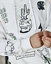 Худи мужской бежевый с принтом от бренда ТУР модель Ковбой, фото 2