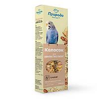 Колосок Природа для попугаев ореховый 140 г
