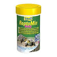 Tetra ReptoMin Baby 100 мл корм для маленьких черепах
