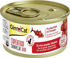 Shiny Cat SUPERFOOD k 70g тунец и помидор