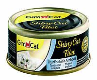 Shiny Cat Filet k 70g тунець і анчоус