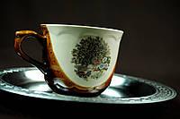 Чашка с павлином
