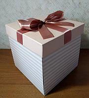 Коробка раскладушка для сладостей и подарков размер М из 3 частей .