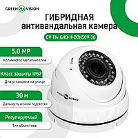 Гібридна антивандальна камера GV-114-GHD-H-DOK50V-30