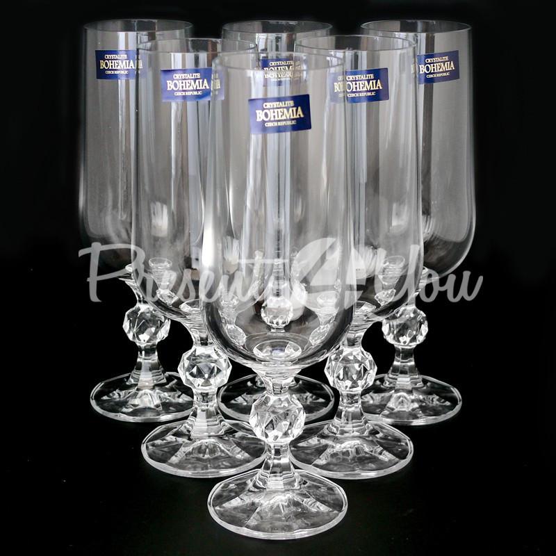 Фужеры для шампанского 6 шт. Claudia, 180 мл.