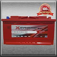 Акумулятор X-FORCE 100Ah/850A R+ (ИКСФОРС) (6CT - 100Аз 850A R MF) Автомобільний АКБ Туреччина ПДВ