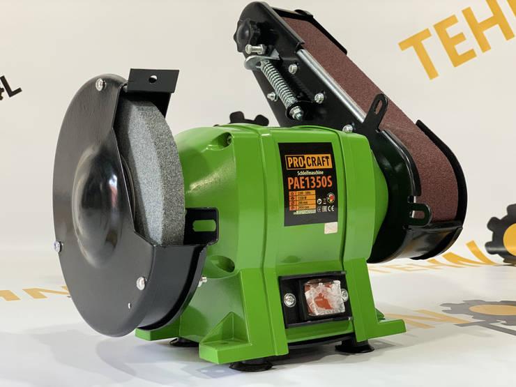 Точило дисково-стрічкове Procraft PAE1350S, фото 2