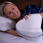 ОПТ Подушка ортопедична для ніг і колін Contour Legacy Leg Pillow анатомічна з ефектом пам'яті, фото 8