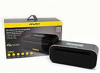 Мощная портативная беспроводная колонка с сабвуфером Awei Y600 2.1 18Вт с Bluetooth, NFC, MP3, AUX