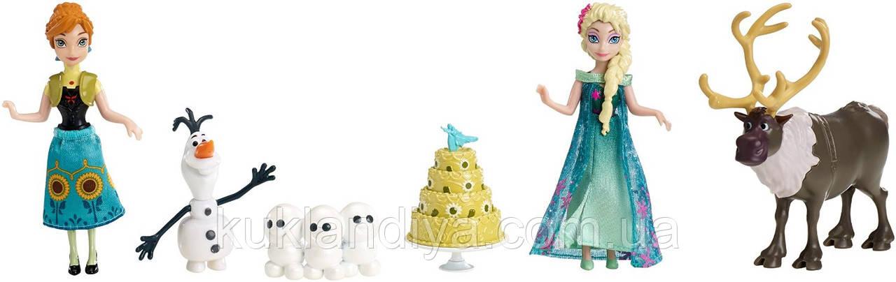 Игровой набор Disney Frozen Fever День Рождение Анны