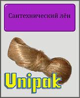 Сантехнический лён Unigarn (коса в полиэтиленовой упаковке 100 грамм)