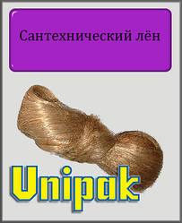 Сантехнічний льон Unigarn (коса в поліетиленовій упаковці 100 грам)